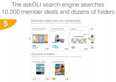 Searches discounts in member deals and shop folders